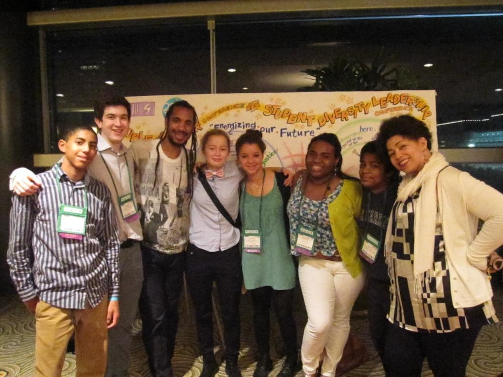BC Students at Student Diversity Leadership Conference