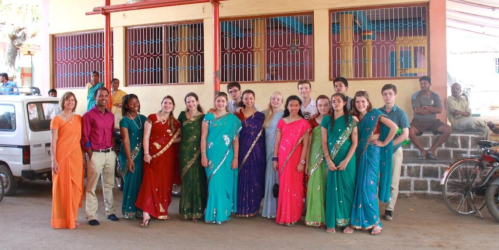 BC Students Go to India
