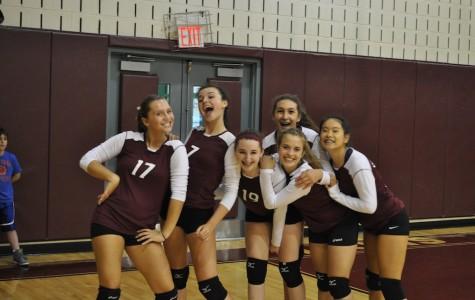 Girls Volleyball Wins Big