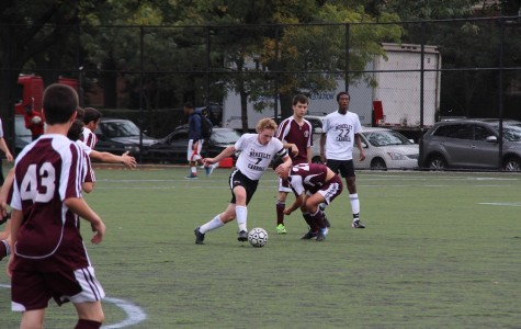 Boys Soccer Dominate Saint Ann's