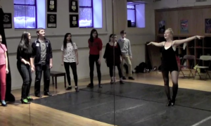 Students Tackle Tap For 42nd Street