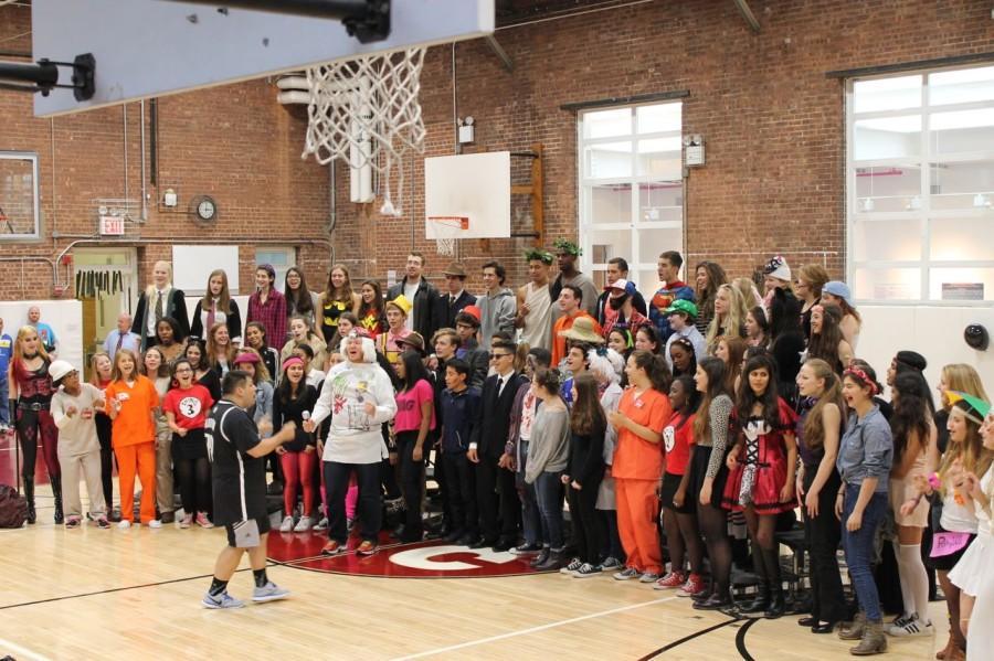 Upper School Choir sings Michael Jackson's