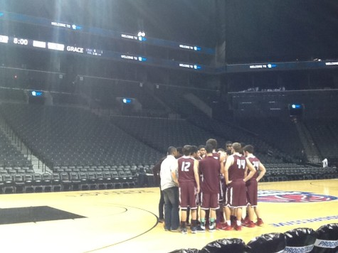 BC Goes Big: Boys Varsity Basketball Take the Barclays Center