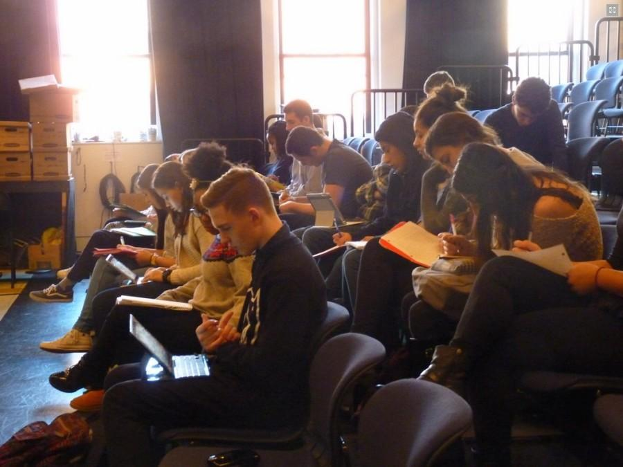 Upper Schoolers write reflections on the movie. Photo via the BC website.