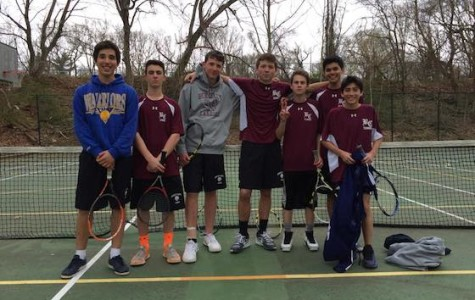 The Up and Coming Tennis Team