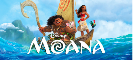 A Moana movie poster