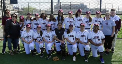 The Girls Varsity Softball Team (from the BC Website)