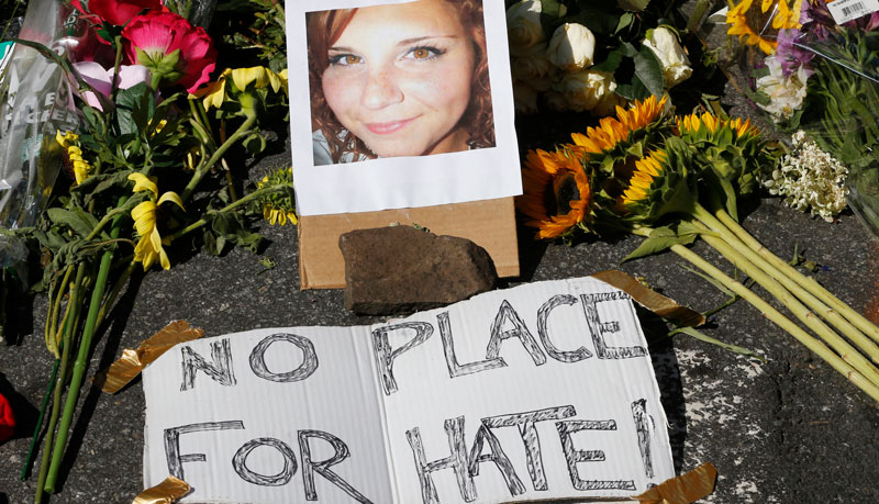 A+shrine+to+Ms.+Heather+Heyer%2C+a+victim+of+the+violence+in+Charlottesville.+Photo%3A+National+Education+Association.+
