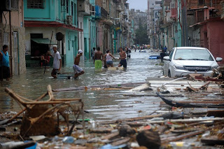 Devastation in Cuba from the Hurricanes. Courtesy of Yamil Lage/ AP