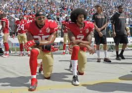 49ers Athletes Kneeling