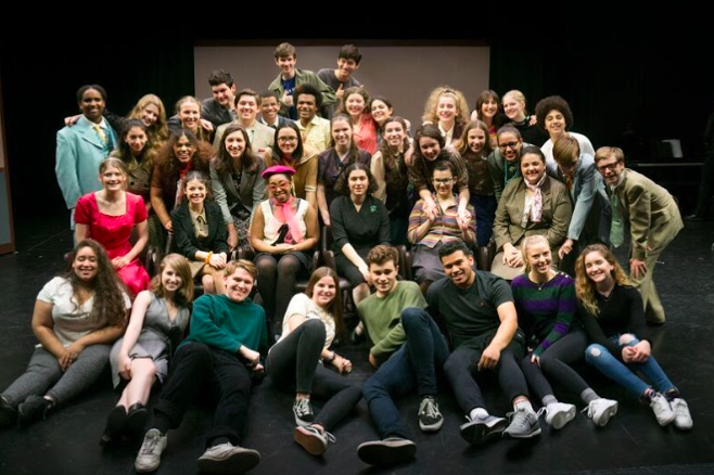The+Cast+and+Crew.+Photo+by+Jackie+Weisberg.+