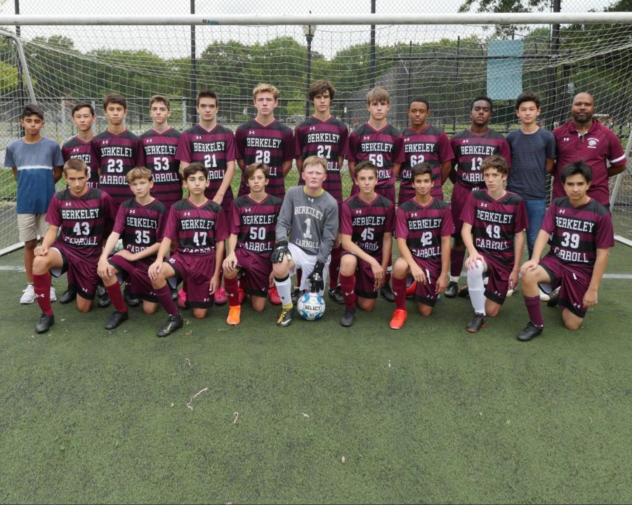 Last year's JV Boys Soccer Team
