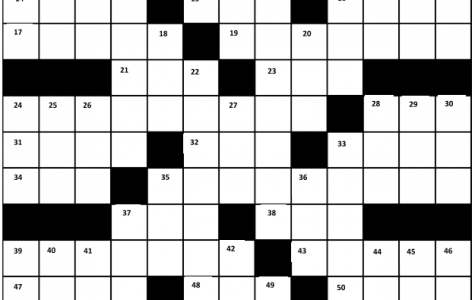 Blotter Crossword!
