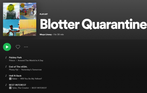 The Blotter's Music Selections for a Slightly Less Boring Quarantine