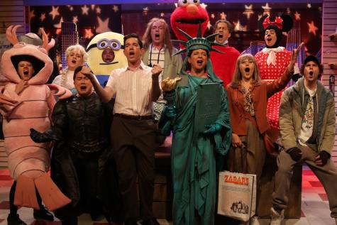 SNL Cast Members/Courtesy of Mary Ellen Matthews via NBC on Vanity Fair
