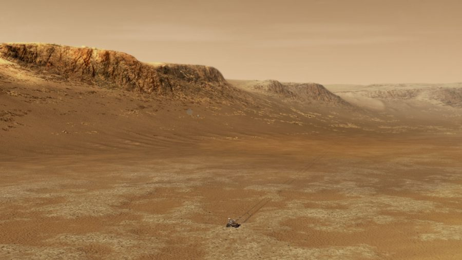 Far Above the World: A New Rover on Mars